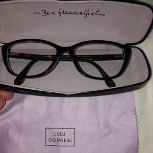 Lulu Guinness eye glasses Excellent condition
